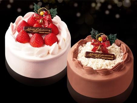 クリスマスガトーフレーズ、チョコレートケーキ-1