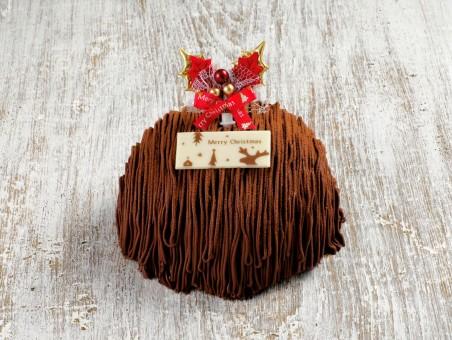 クリスマスチョコモンブラン(ろまん亭)