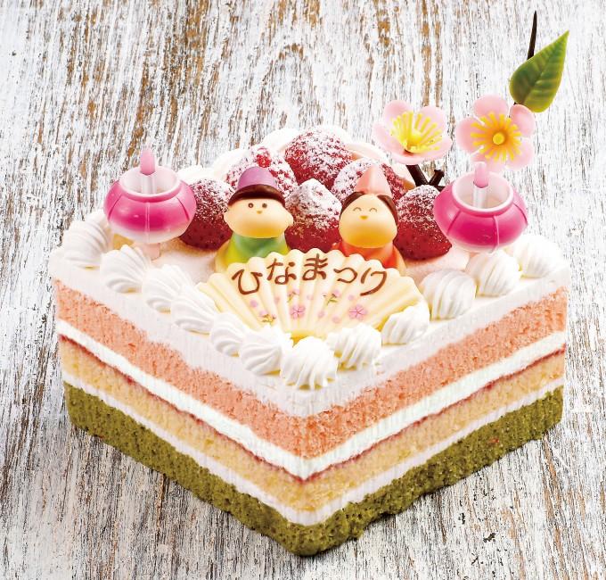 ひしもちケーキ